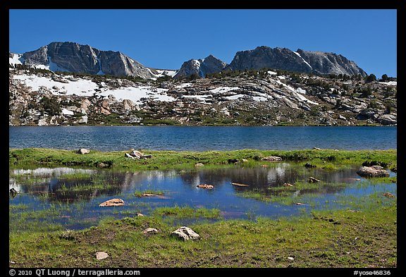 Evelyn Lake. Yosemite National Park (color)