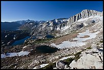 Twenty Lakes Basin and North Peak. Yosemite National Park ( color)