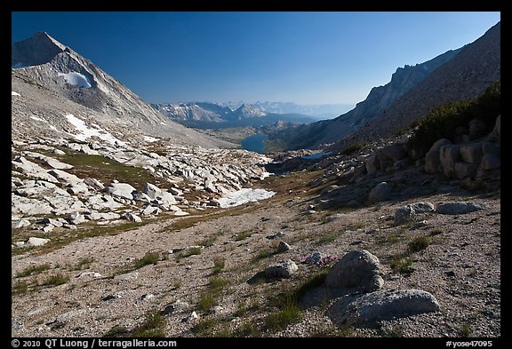 Conness Creek and Roosevelt Lake. Yosemite National Park (color)