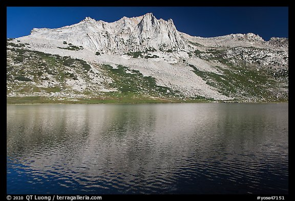 Sheep Peak and  Roosevelt Lake. Yosemite National Park (color)
