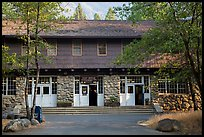 Post Office. Yosemite National Park ( color)