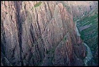 Gunisson River at Cross Fissures. Black Canyon of the Gunnison National Park, Colorado, USA. (color)