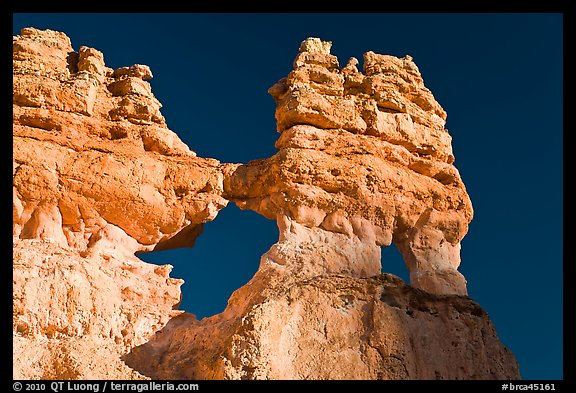 Hoodoos and windows. Bryce Canyon National Park (color)