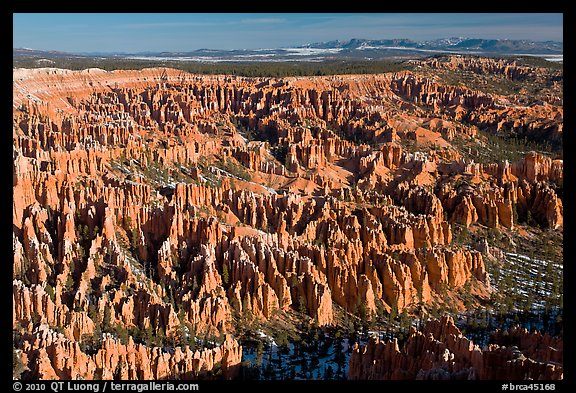 Paria view. Bryce Canyon National Park (color)