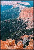 Pink cliffs. Bryce Canyon National Park ( color)
