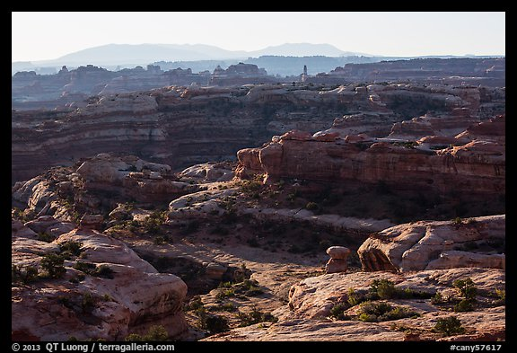Jasper Cayon, early morning, Maze District. Canyonlands National Park (color)