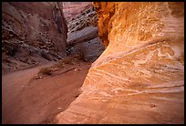 Rock walls, Capitol Gorge. Capitol Reef National Park ( color)