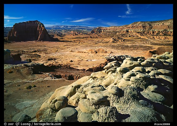 Lower South Desert. Capitol Reef National Park (color)