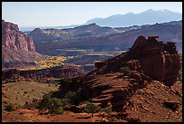 Morning from Sunset Point. Capitol Reef National Park ( color)