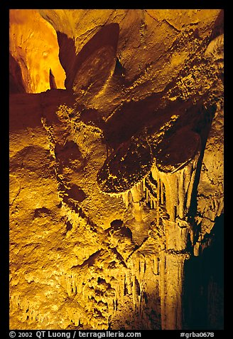 Rare parachute underground formations, Lehman Caves. Great Basin National Park (color)