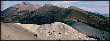 Snake Range ridge top. Great Basin National Park (Panoramic color)
