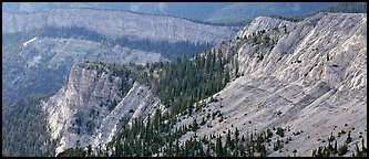 Limestone cliffs. Great Basin National Park (Panoramic color)