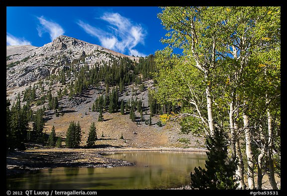 Aspen and Stella Lake. Great Basin National Park (color)