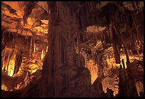 Tall columns in Lehman Cave. Great Basin National Park ( color)