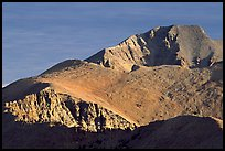 Wheeler Peak seen from the South, morning. Great Basin National Park ( color)
