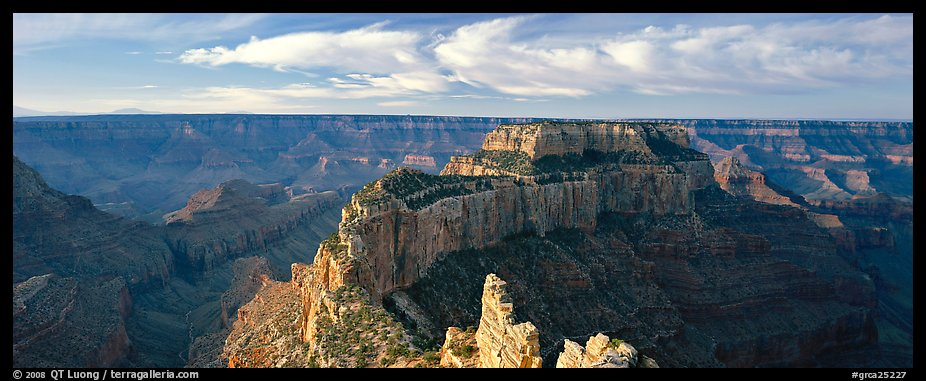 Canyon landscape from Cape Royal. Grand Canyon National Park (color)