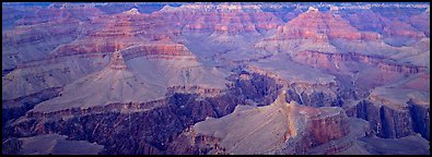 Buttes and Granite Gorge. Grand Canyon National Park (Panoramic color)