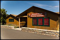 Desert View visitor center by night. Grand Canyon National Park ( color)