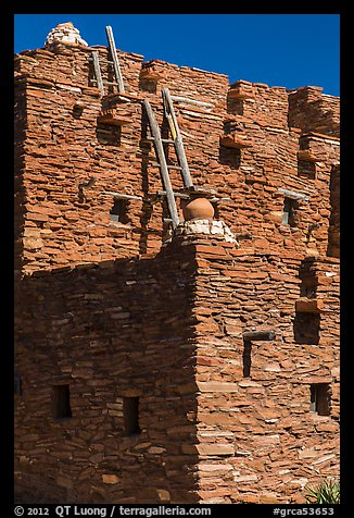Stone masonry style Hopi House. Grand Canyon National Park (color)