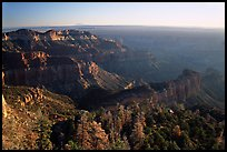 View from Point Imperial, sunrise. Grand Canyon National Park, Arizona, USA.