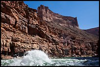 Wave in Marble Canyon. Grand Canyon National Park ( color)