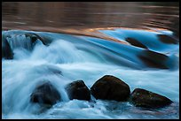 Boulders and rapids. Grand Canyon National Park ( color)