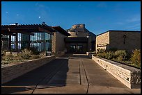 Visitor and Research Center. Mesa Verde National Park ( color)
