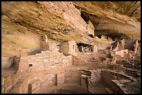 Mug House, Wetherill Mesa. Mesa Verde National Park ( color)