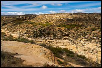 Canyon, Wetherill Mesa. Mesa Verde National Park ( color)