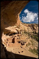 Alcove and Long House, Wetherill Mesa. Mesa Verde National Park ( color)