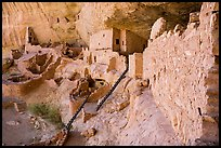 Long House, second largest Ancestral Pueblo cliff dwelling. Mesa Verde National Park ( color)