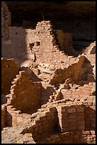 Original walls from Ancestral Puebloan cliff dwelling. Mesa Verde National Park ( color)