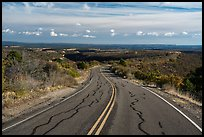 Wetherill Mesa Road. Mesa Verde National Park ( color)
