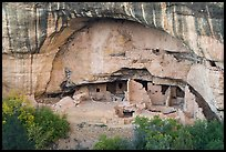Oak Tree House, Chapin Mesa. Mesa Verde National Park ( color)