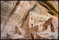 Square Tower House Anasazi dwelling. Mesa Verde National Park ( color)