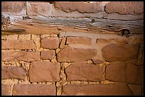 Masonery detail, Square Tower House. Mesa Verde National Park ( color)