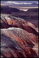 Painted desert seen from Lacey Point, morning. Petrified Forest National Park ( color)