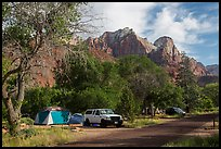 Watchman Campground. Zion National Park ( color)