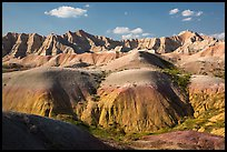 Yellow Mounds. Badlands National Park ( color)