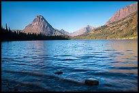 Two Medicine Lake. Glacier National Park ( color)