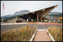 Saint Mary visitor center. Glacier National Park ( color)