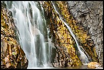 Base of Apikuni Falls. Glacier National Park ( color)