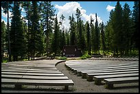 Amphitheater, Colter Bay Village. Grand Teton National Park ( color)