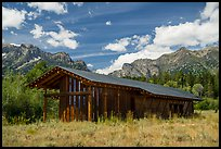 Visitor Center, Laurence S. Rockefeller Preserve. Grand Teton National Park ( color)