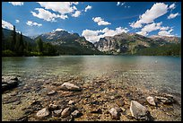 Phelps Lake. Grand Teton National Park ( color)