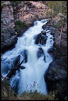 Adams Falls. Rocky Mountain National Park ( color)