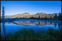 Beaver pond and Never Summer Mountains. Rocky Mountain National Park ( color)