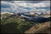 Gore range. Rocky Mountain National Park ( color)
