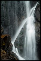 Close-up of Ouzel Falls. Rocky Mountain National Park ( color)