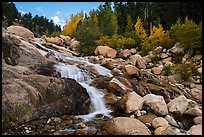 Alluvial Fan in autumn. Rocky Mountain National Park ( color)